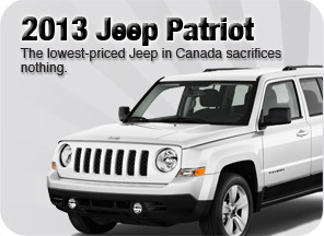 New 2013 Jeep Patriot for sale Surrey Jim Pattison Chrysler Jeep Dodge